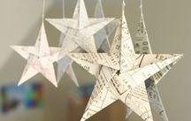 DIY Cristmas decorations & card