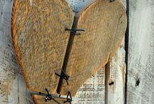 cuori legno