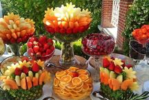 Mesas de frutas  para festas