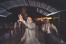 Reception Dancing - Let the Party Begin / Reception fun while dancing under the stars!