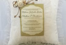 Wedding Invitations to Keep / Personalized wedding invitations that touch the heart and capture a special moment in time