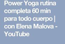 yoga rutina completA todo lo corpo