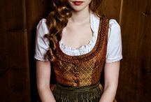 dirndl beauty / by Carolyn Sandvig Hollister
