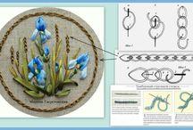 18 Ribbon embroidery/ Stužková výšivka