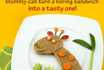 Fun with Food / The right arrangement can make boring food interesting and make yummy food look and taste even better!
