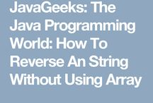 JavaGeeks / All about Java Programming Solution.