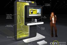 Kiosk / POP Display Concepts