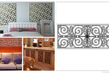 Faux Iron Interior Accents / Accentuate your interiors with Faux Iron Interior Accents, manufactured by Tableaux Designer Grilles in Austin, TX. Customized to your specifications, these accents are sustainable wooden fixtures that look like genuine wrought iron. Visit FauxIronDIRECT.com or call 1(800)281-9963 today for more information.