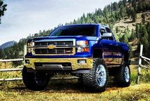 Jeep, GMC & Chevy / by Kersten S