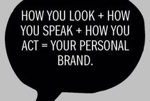 Personal Branding / Personal branding. How to brand yourself. Personal branding tips. Personal branding for blogger.