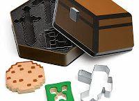 Minecraft Stuff / Some Minecraft inspired products.