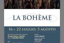 BOHEME TORRE DEL LAGO 2016 / FESTIVAL PUCCINIANO