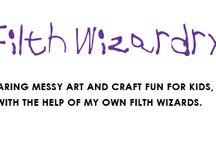 Kreative små barn