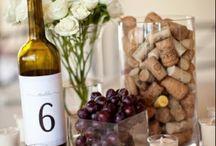 Idee centrotavola tema vino