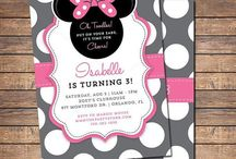 Birthday Invitations for Girls / Cute ideas for Girl Birthday Party invites!⭐️