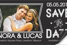 Save the Date Magnets / Make your date stick with 123Print Save the Date Magnets! / by 123Print – Online Printing