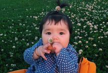 My little one / Oya OZDEMIR.mom is Chinese ,daddy is Turkish .