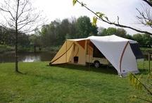 Kamperen / Tent trailer