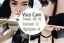 vsco cam settings