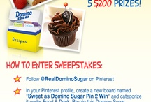Sweet as Domino Sugar Pin 2 Win / by Shell Foster
