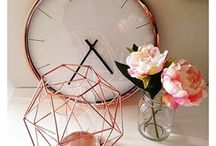Rosegold decor