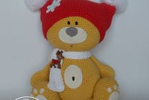 Teddy bear / Yellow teddy bear