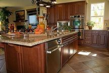 Help me design my kitchen! / by Kathy Travous