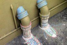Art: Street and Chalk Art / ~m~ / by Mary Frattaroli