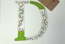 all things Flowery on etsy, Nursery Letters, Handmade Clothes, Crochet Hats, & more...