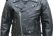 Men's Leather Jackets / Daemon's Boots and Shoes http://srethng.com is all about service, call me direct Rick 720-278-1525 for any questions or concerns about the products sold on this web site.  We provide the same service you  would expect from any brick and mortar store you patronize.  We sell quality leather motorcycle apparel and leather motorcycle accessories by Hillside USA and Allstate Leather for both men and women, just added Butt Buffer, Crampbuster and Seirus.