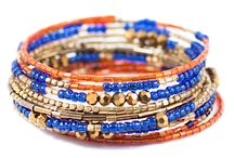 Bracelets / 100% of every dollar goes towards a sustainable income to free women from exploitation in the commercial sex-trade. More here: http://store.nightlightinternational.com/Bracelets_s/13.htm