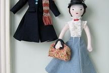fabric dolls / by Adele Powers