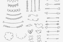 Bullet journal ♥ / Idées pour Bullet journal