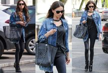 Celebrity street fashion