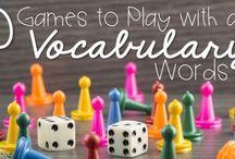 Spelling/Vocabulary work