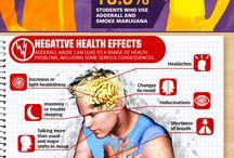 Drug addiction infographics