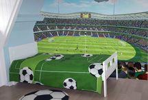 Voetbal / Voetbal slaapkamers