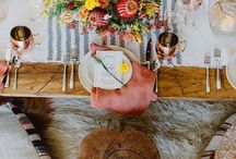 Bohemian Chic / I am greatly influenced by all the bohemian chic craze going on, whether its in interior styling, weddings, events or fashion. #WedPin #AAWEP #Wedding