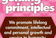 Guiding Principles / Gamma Phi Beta's five Guiding Principles.