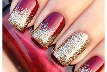 christmas nail picks