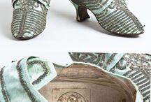 buty XVIII wiek