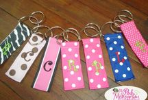 Custom made key tags / Key tags diy