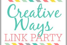 Creative Ways Link Party Features