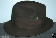 Royal DeLuxe Stetson 40's Man's Hat-G-Man-Gangster -So Retro
