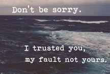 You broke my heart