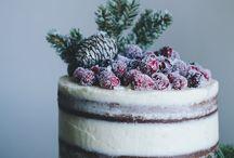 naked cake natale