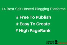 14 Best And Free Self Hosted Blogging Platforms / 14 free and best self hosted blogging platforms. Here you can start blogging with no money investing. Or you can create too many websites for supporting your niche website.