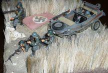 military dioramas