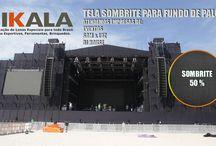Eventos, Shows, Som&Luz, Palco