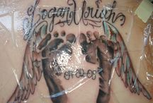 Footprints / Dedicated to my husband finding his next tattoo in remembrance of his lost babies.  RIP Sara and James...until you see your daddy again. / by ༺♥༻TammyTellMeTru ♀ ☮♥☺ ༺♥༻